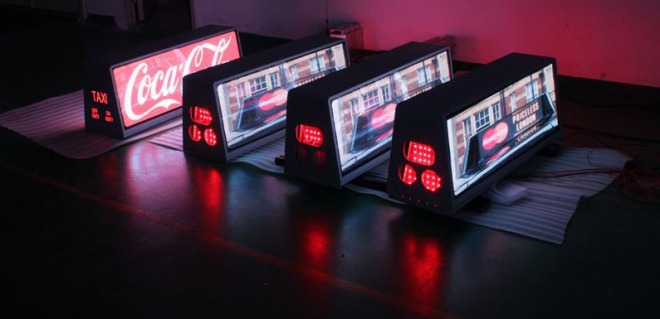 P5 Taxi Top LED Display