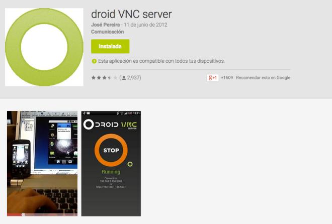Droid Vnc