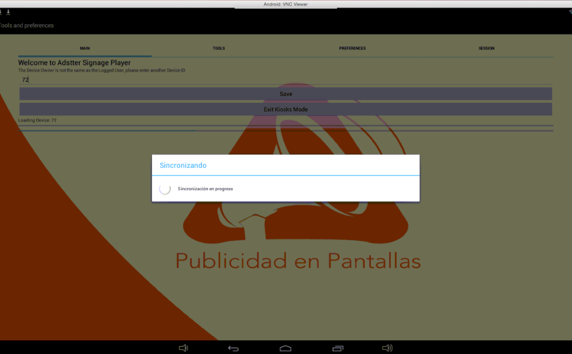 Monitorea tus player Android remotamente